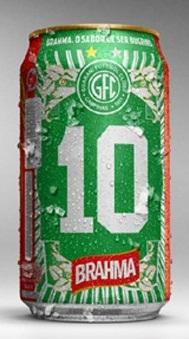 Em 2010, a Brahma já havia lançado a única latinha campeã brasileira do interior do Brasil!