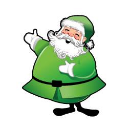green-santa