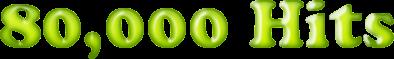 80.000 acessos ao Blog!